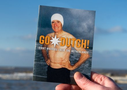 Stroomberg – Omslag Go Dutch! – Nederlands Letterenfonds