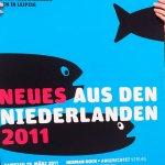 Stroomberg - Affiche Neues Aus Den Niederlanden 2011, Nederlands Letterenfonds