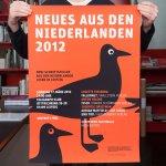 Stroomberg - Affiche Neues Aus Den Niederlanden 2012, Nederlands Letterenfonds