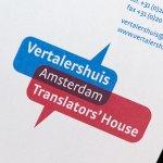 Stroomberg – Briefpapier Vertalershuis - Translator's House